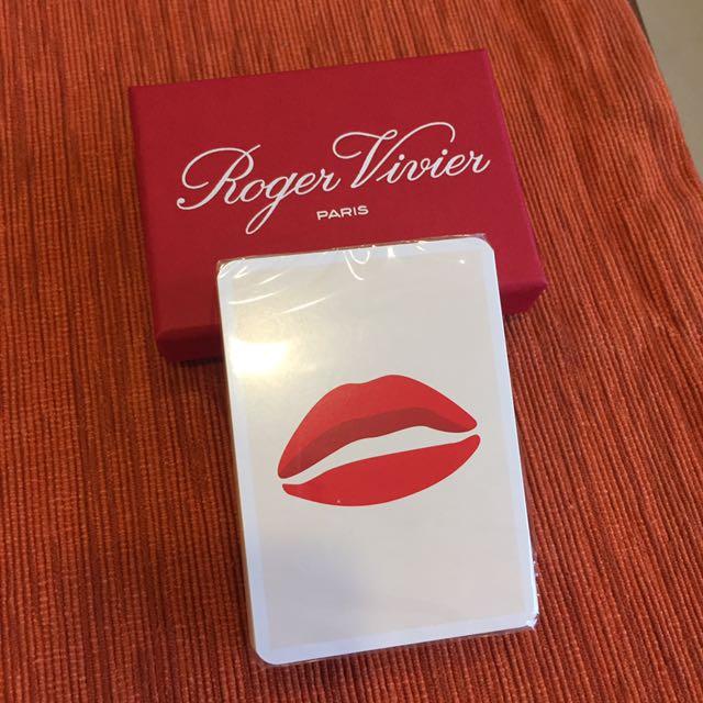 Roger vivier 撲克牌 全新