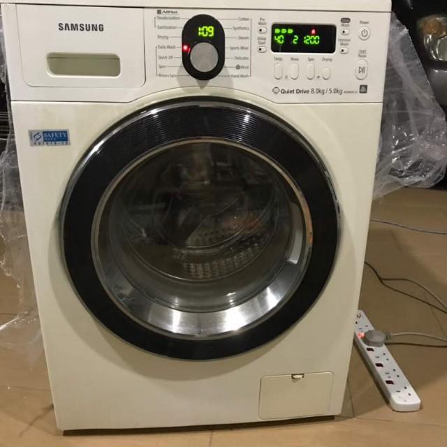 774b974053c026 Samsung washer dryer 8kg, Kitchen   Appliances on Carousell