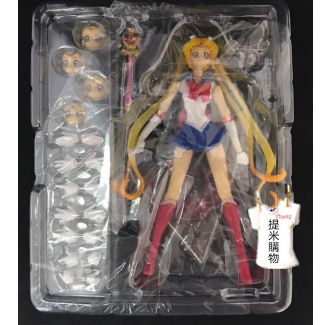SHF 美少女戰士 Sailor moon 月光仙子 小兔 可動 v2