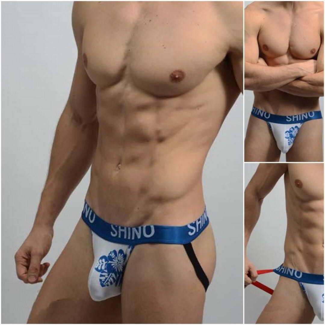 Shino Men Jockstrap - Blue (Brand New)