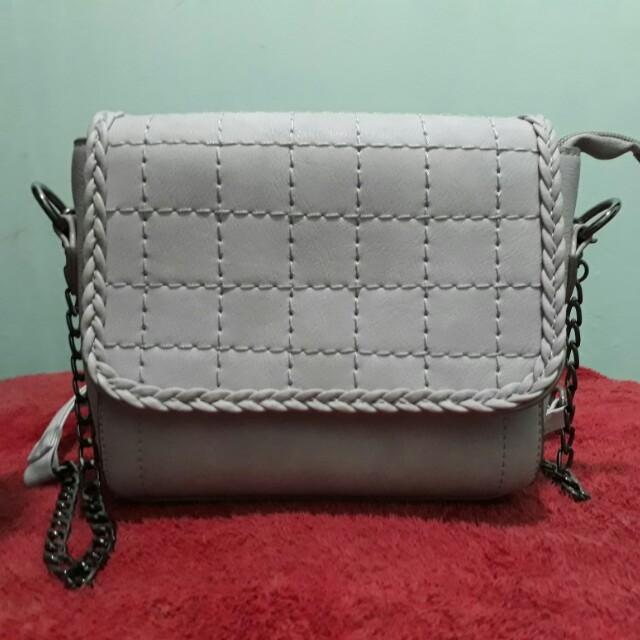 Sling bag import rantai