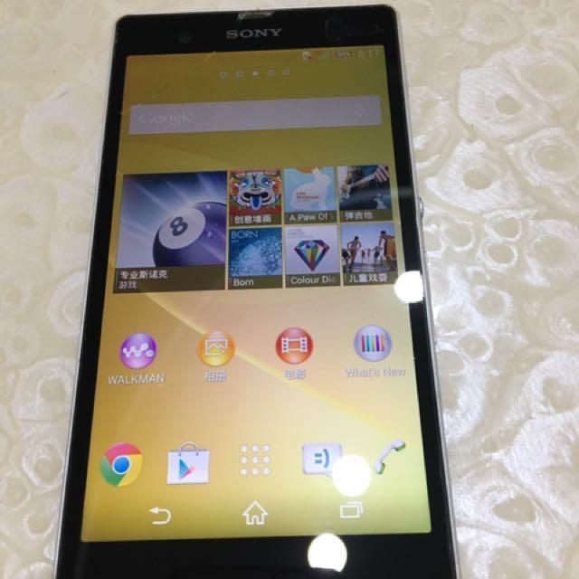 Sony z 16Gb-NG手機