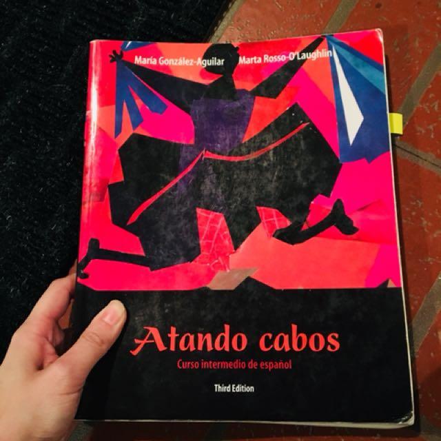 Spanish textbook (atandos cabos) span204 and span205 queen's