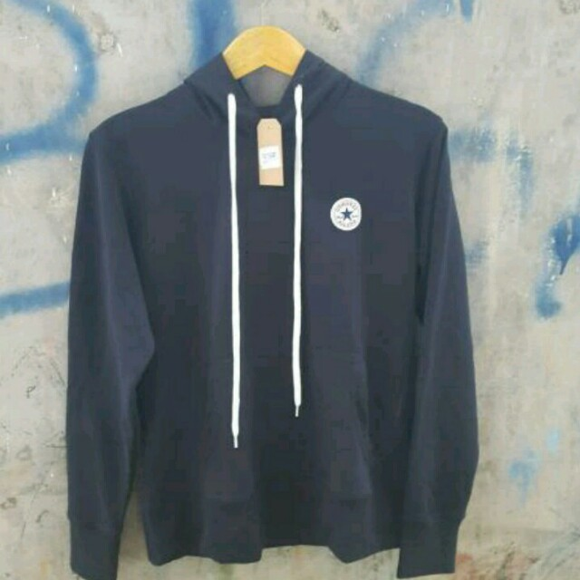 Sweater hoodie converse original 747ed911753f