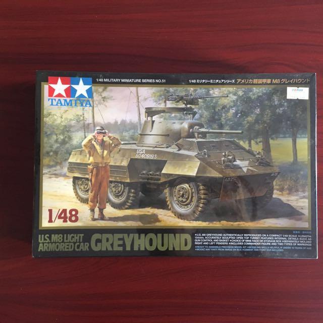 Tamiya M8 Greyhound 1/48 Miniature
