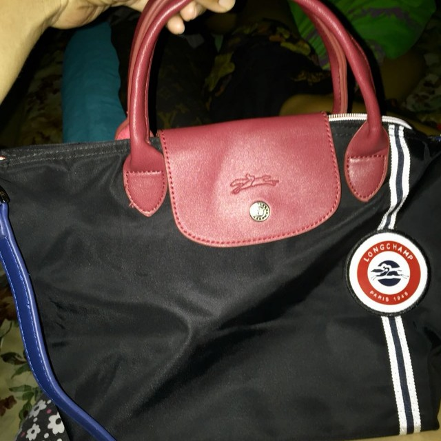 Tas longchamp black original