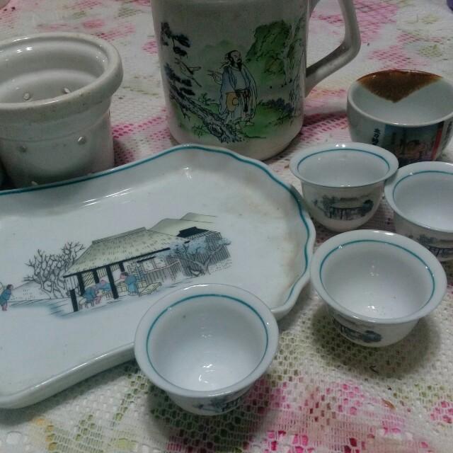 Tea set( not complete)