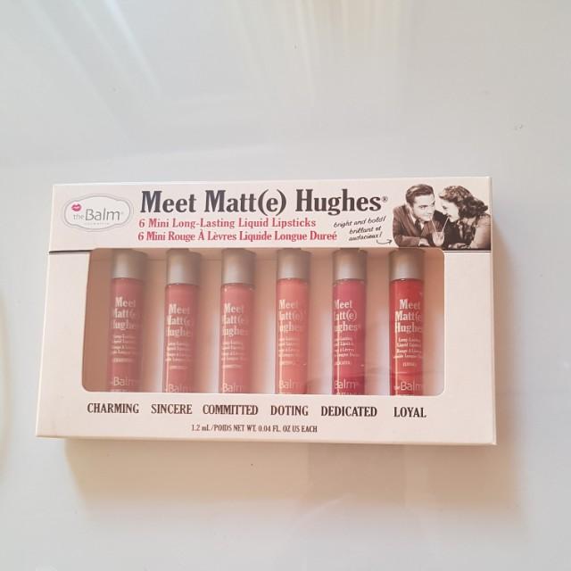 The balm 6 mini liquid lipstick meet matt(e) hughes d30dc1ccb5
