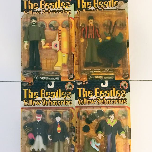 The Beatles Yellow Submarine figures, Toys & Games, Bricks ...