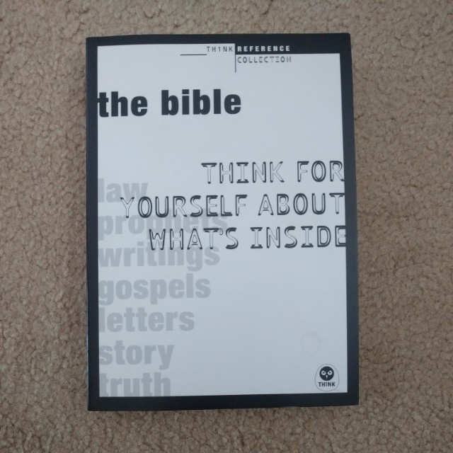 The bible think for yourself about it