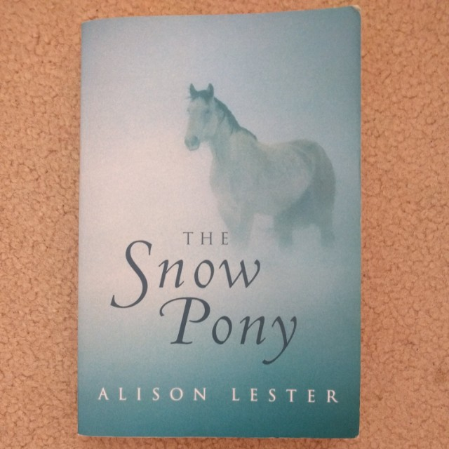 'The snow pony' by Alison Lester