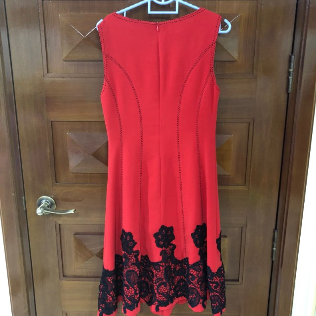 The station red dress perfect for cny