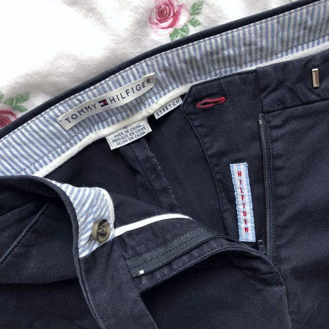 Tommy Hilfiger Chino Trouser Pants in Navy Size US4