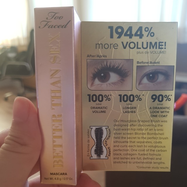 Too faced better than sex mascara mini size