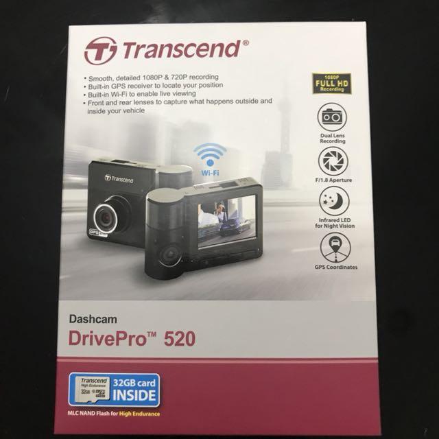 Transcend Drive Pro 520 Dashcam