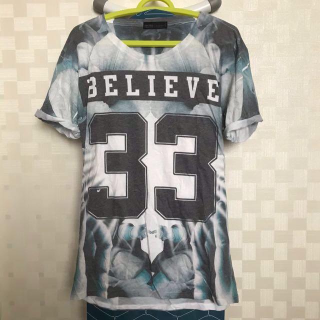 Tshirt/Kaos Bershka