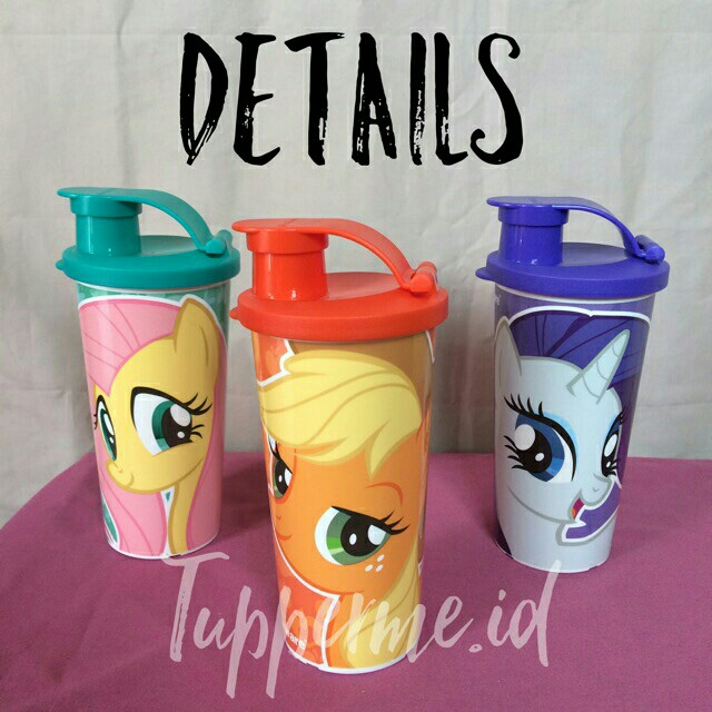 Tupperware little pony