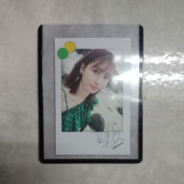 Twicetagram Momo Polaroid PC
