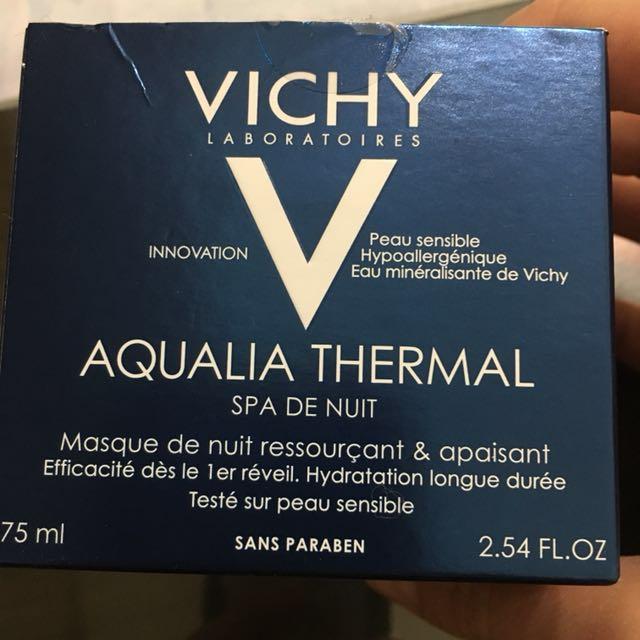 薇姿Vichy 午夜奇蹟SPA水面膜