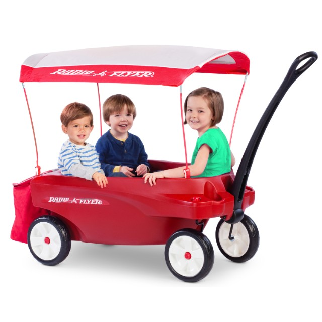 Pre Order Radio Flyer Triple Play Wagon Deluxe For Up To