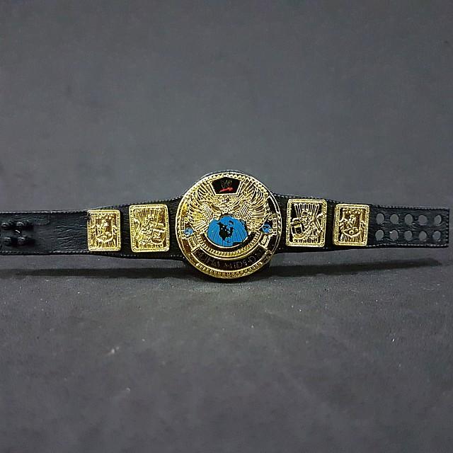 WWE Mattel Elite World Heavyweight Championship Wrestling Figure Belt WWF Toy