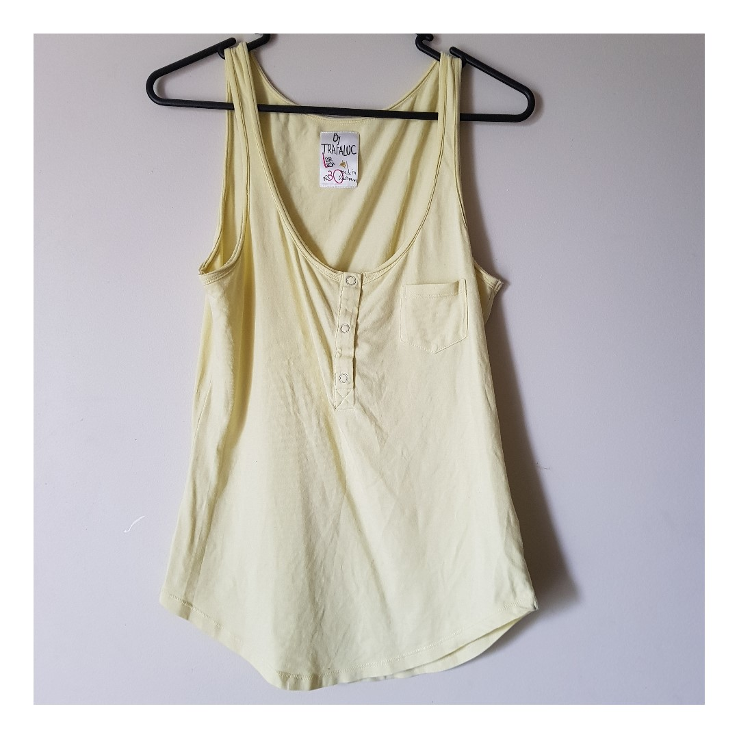 Yellow Singlet by Trafaluc (Zara)