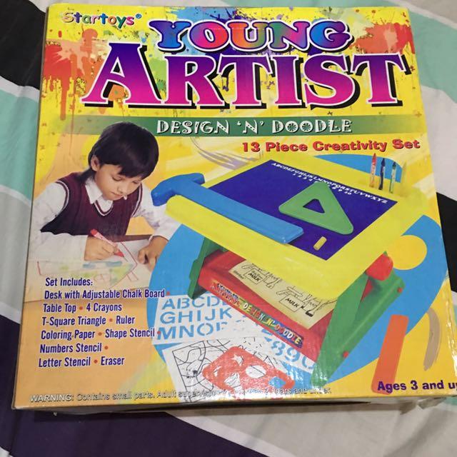 Young artist creativity set