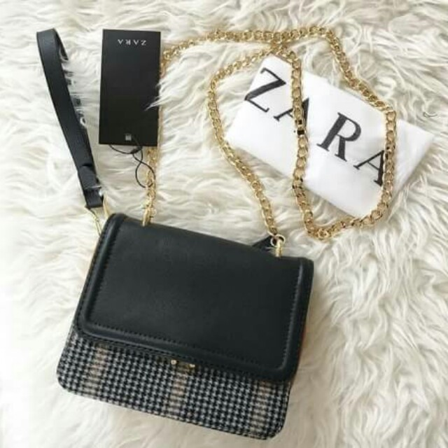 cae78f46 ZARA Contrasting Crossbody Bag, Olshop Fashion, Olshop Wanita on ...
