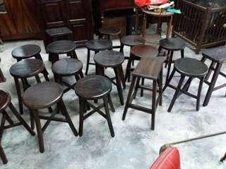 Vintage kopitiam stool