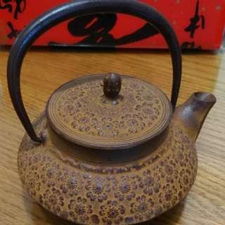 大出清 品味茶壺 收藏 鑄鐵煮茶壺