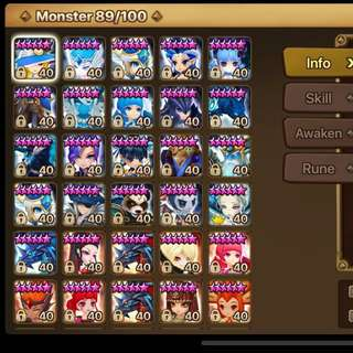 WTS ASIA SUMMONERS WAR(G2)