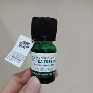 [LIKE NEW] Tea Tree Oil 10ml The Body Shop