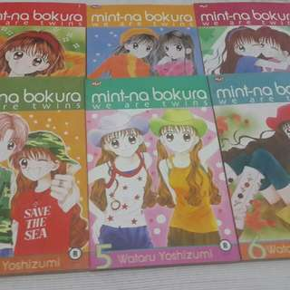Komik Mint-Na Bokura (We Are Twins) by Watari Yoshizumi