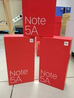 Xiomi Note 5A Promo Free Admin