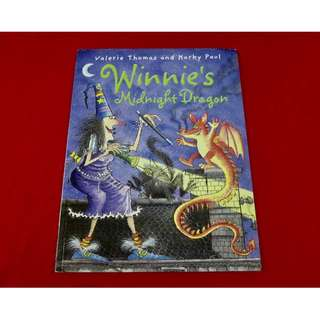 Winnie's Midnight Dragon by Valerie Thomas and Korky Paul