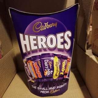 Cadbury Heroes Bites