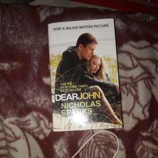 Novel dear john by nicholas sparks english version