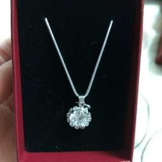 🚚 品牌 墜飾 項鍊 ♡花鑽♡ (不含鏈)Jewelry