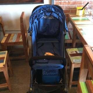 baby throne stroller