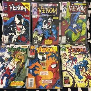 Venom Lethal Protector #1-6 complete