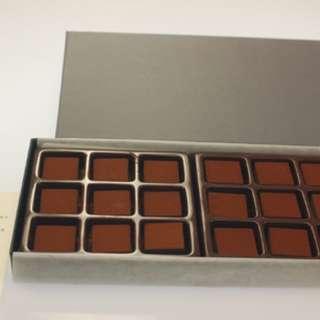 🔥代購新竹18入RT頂級VALRHONA法國巧克力石疊