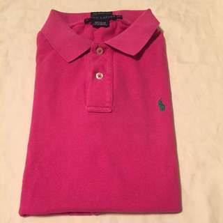 100% authentic Ralph Lauren skinny polo size L ( kids) t shirt #huat50sale
