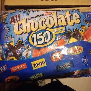 Kirkland All chocolates 150pcs