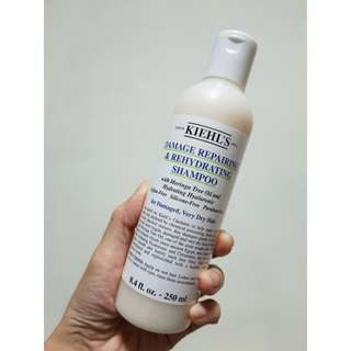 Damage Repairing & Rehydrating Shampoo 250ml