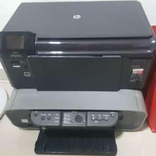 HP photosmart B110A and CANON printer pixma MP160