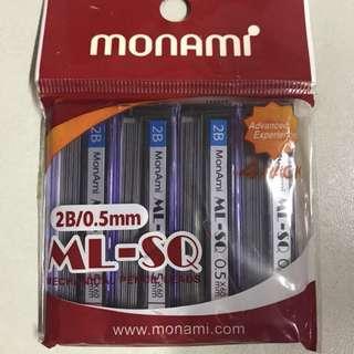 New Monami 2B/0.5mm Pencil Lead