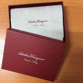 Salvatore Ferragamo 黑色卡片套