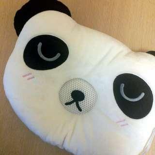 熊貓造型喇叭cushion耳機