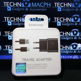 Original Samsung Type C Fast Charger For S8 Note 8