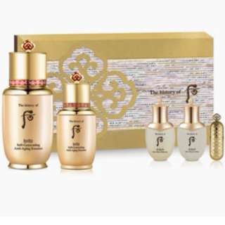 {Pre Order till 05 Mar 2018} The History of Whoo from Korea